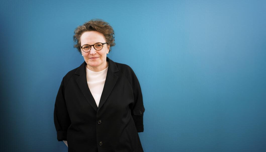 Featureredaktør Gry Egenes i Dagens Næringsliv. Foto: Kristine Lindebø