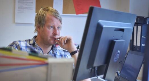 Mattias Mellquist ser fram til mer lagarbeid når han blir redaktør i Amta