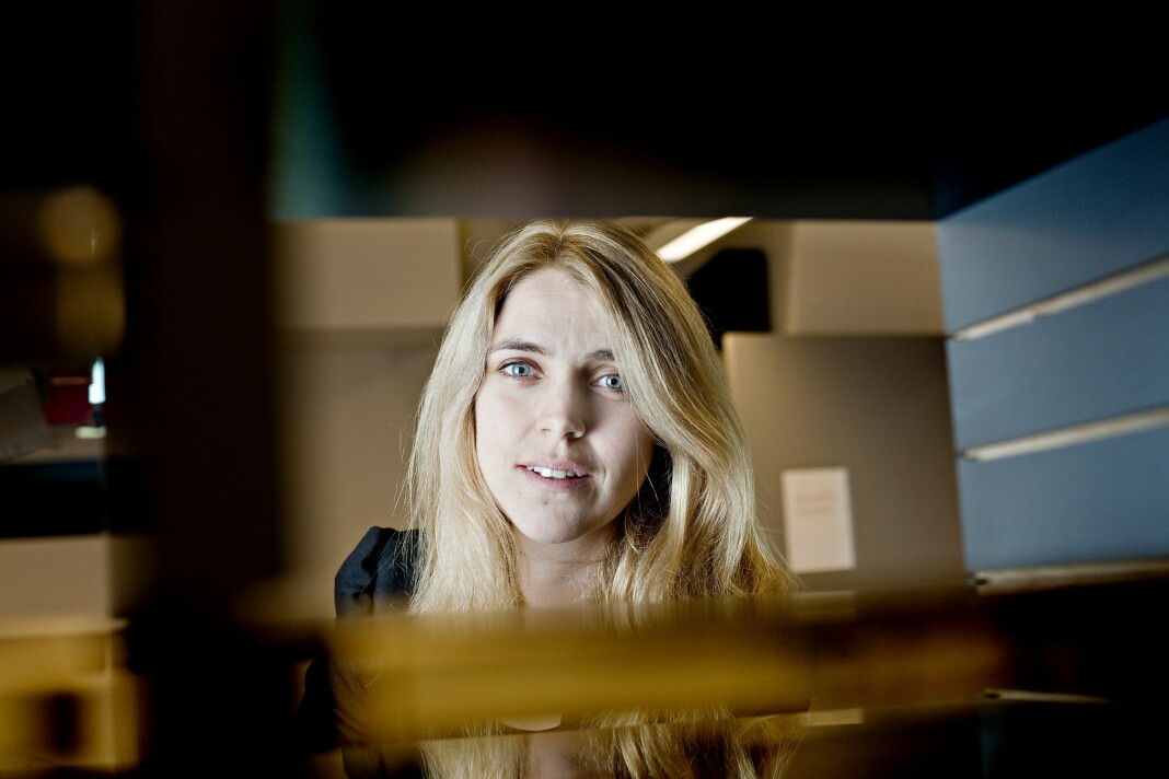 Ansvarlig redaktør Alexandra Beverfjord i Dagbladet. Foto: Kristian Ridder-Nielsen / Dagbladet