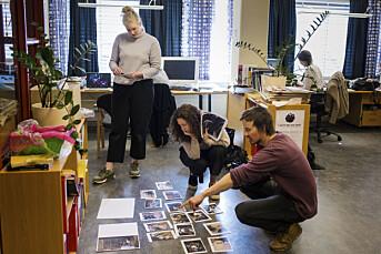 I denne lokalavisa tenker de foto fra begynnelsen og snakker om bilder på morgenmøtene
