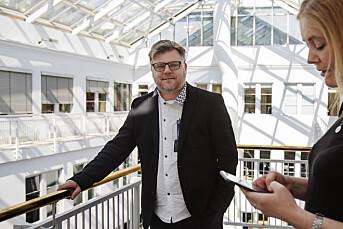 MORGENRUTINEN: Joikeduell med kringkastingssjefen står igjen som det rareste Richard Aune har opplevd som tillitsvalgt