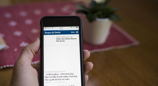 Schibsted-aviser starter tirsdagen med tekniske problemer