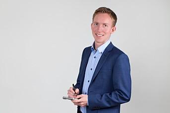 Vegard Storbråten Øye konstitueres som ansvarlig redaktør i EUB