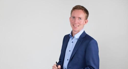 Vegard Storbråten Øye er ansatt som innholdssjef i DNX