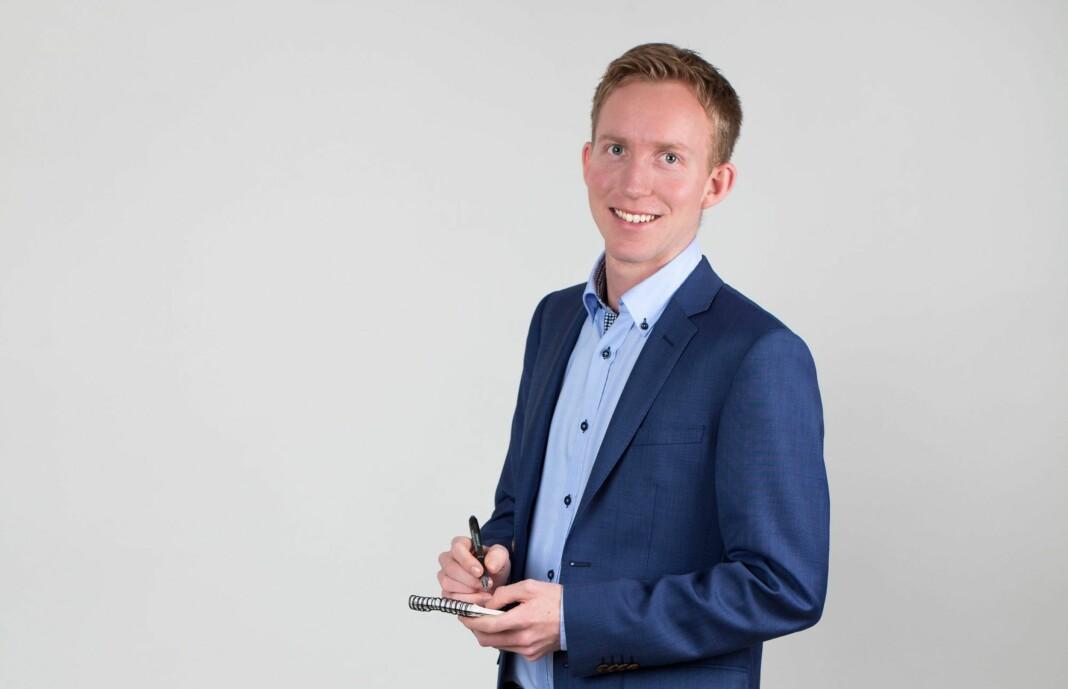 Konstituert redaktør Vegard Storbråten Øye i EUB har sagt opp sin stilling. Foto: Privat