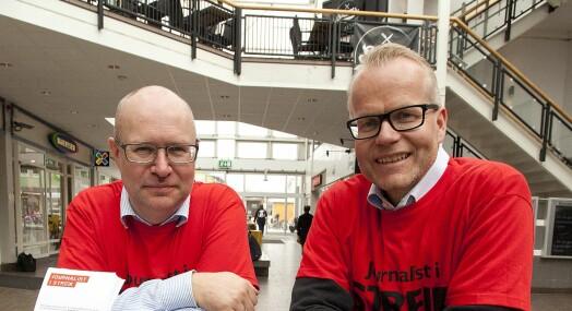 NRK-profil i Nordland overrasket over streikestøtte fra publikum