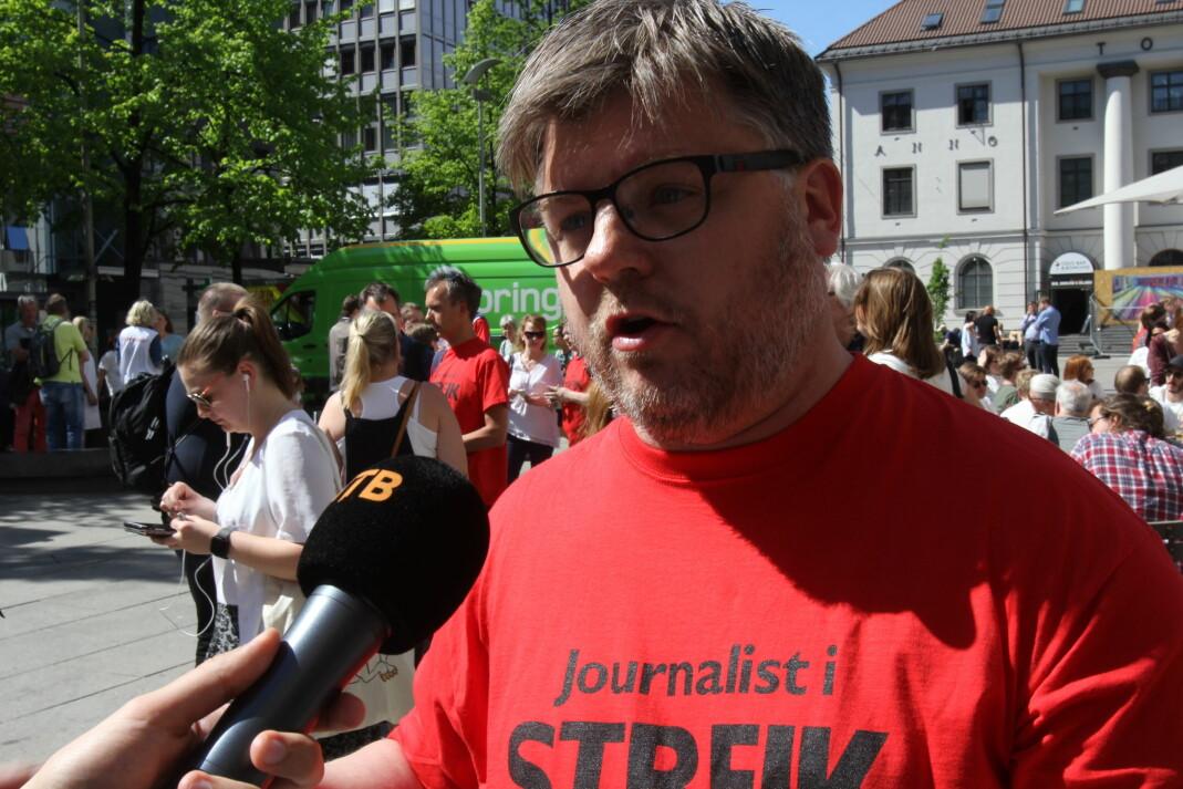 NRKJs leder Richard Aune.