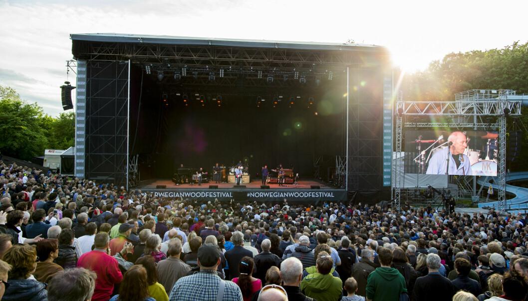 Mark Knopfler under Norwegian Wood for et par år siden. År blir festivalen ikke noe av. Foto: Vegard Wivestad Grøtt / NTB scanpix