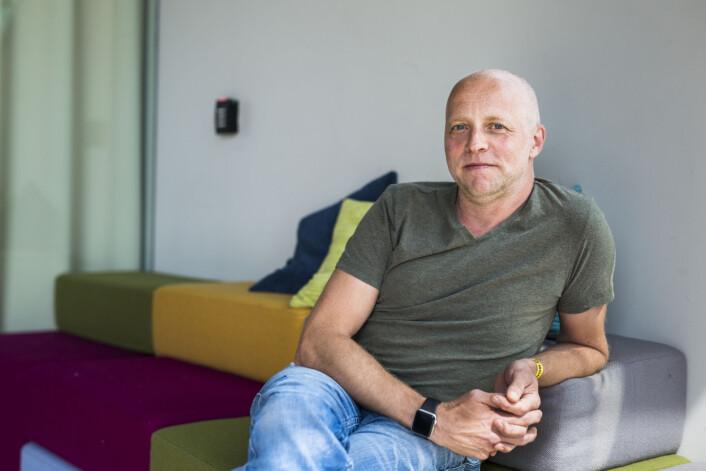 Fotosjef Gisle Oddstad i VG. Foto: Kristine Lindebø