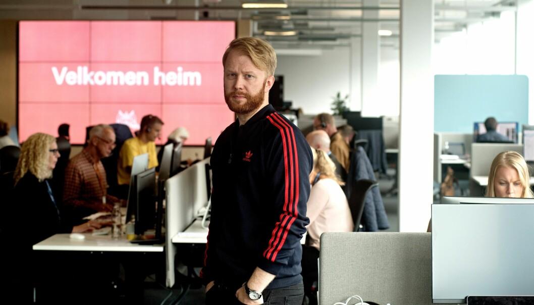 Klubbleder Christian Nicolaisen. Foto: Eirik Brekke/Bergens Tidende