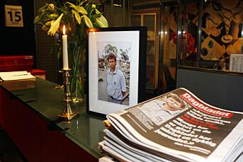 Minnefondet på 500.000 kroner skal hjelpe flere journalister i konfliktområder