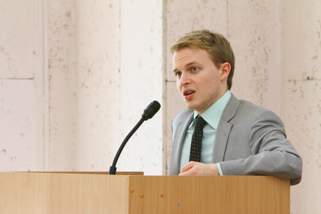 The New Yorker-journalist Ronan Farrow satte i gang metoo-bevegelsen. Foto: U.S. Embassy Kyiv Ukraine / Flickr
