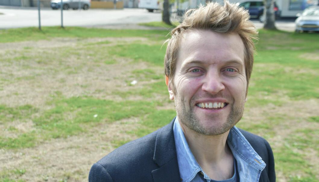 Erik Magnus Samland tok over ansvarlig redaktør og daglig leder i september. Snart gir han seg. Foto: Amedia