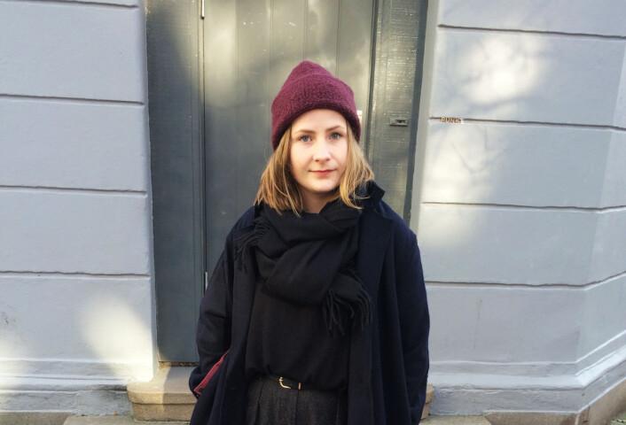 Fotojournalist Wanda Nathalie Nordstrøm. Foto: Kristine Lindebø