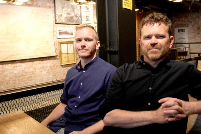 Slik jobbet Markus Tobiassen og Kjetil Sæter fram Tidal-saken