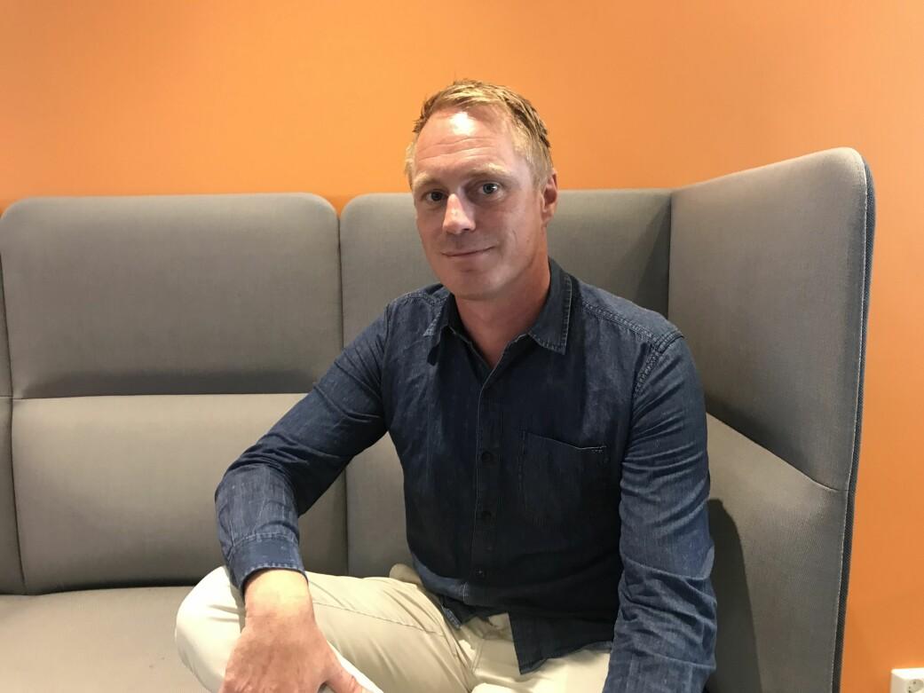 Klubbleder Anders Stavseng i Aller Media. Foto: privat