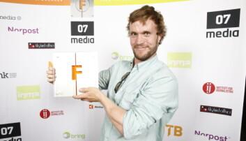 Vinner av fotoprisen, Forsvarets forum og Christian Nørstebø. Foto: Audun Braastad / NTB scanpix