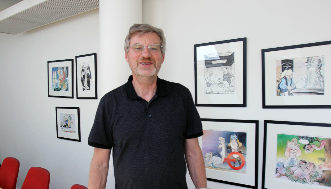 Magne Lerø ønsker å kjøpe Dagsavisen. Han er ikke førstevalget til Dagsavisen-ledelsen. Arkivfoto: Glenn Slydal Johansen.