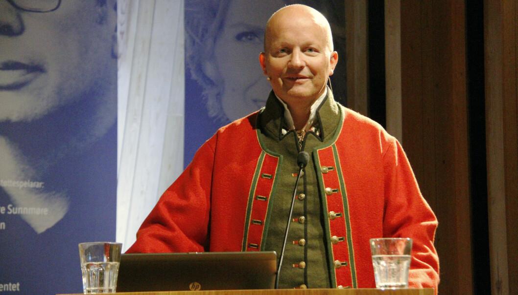 Sportsjournalist Harald Thingnes har gjennom heile livet hatt eit sterkt forhold til nynorsk.