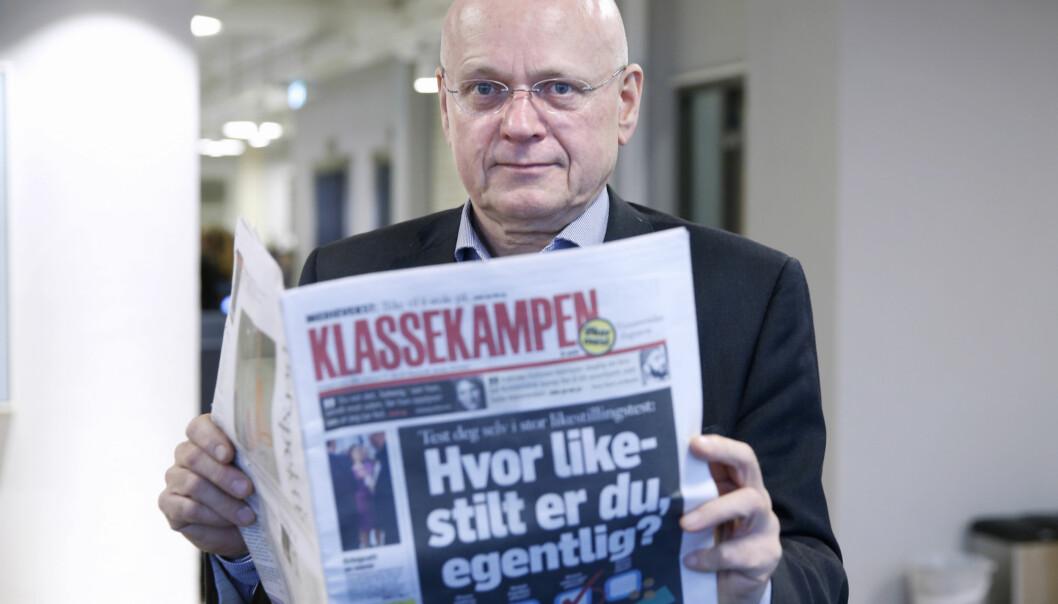 Bjørgulv Braanen går av som redaktør i Klassekampen etter nesten 16 år i sjefsstolen. Foto: Vidar Ruud / NTB scanpix