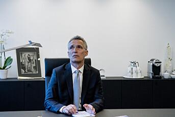 Stoltenberg kritisk til iscenesatt journalistdrap i Ukraina