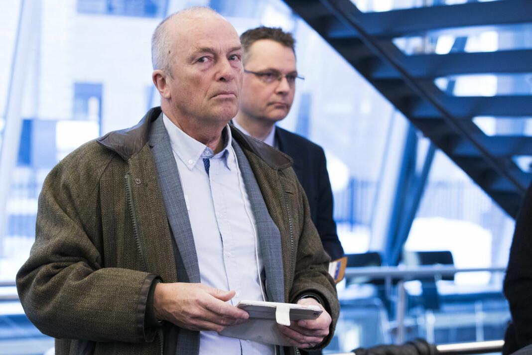 Hans Rustad er redaktør for Document.no. Her er han under pressekonferansen etter at Sylvi Listhaug (Frp) trakk seg som justisminister tidligere i år. Foto: Håkon Mosvold Larsen / NTB scanpix