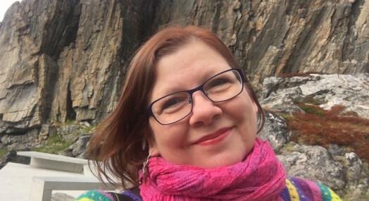 Når frilanser Marianne Lovise Strand ser noe uvanlig på kjøretur stopper hun og sjekker