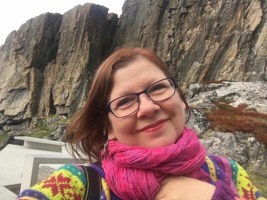 Marianne Lovise Strand er frilansjournalist med base på Sortland i Vesterålen. Foto: Privat
