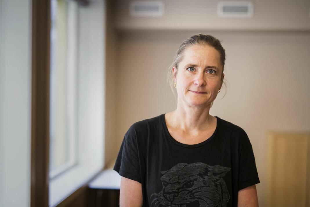 Line Vaaben er featurejournalist i danske Dagbladet Information. Foto: Kristine Lindebø