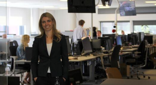I dag overtar hun Dagbladet