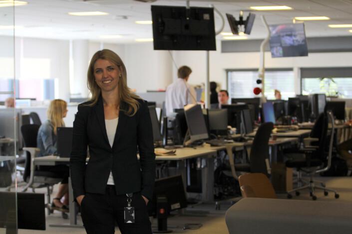 Alexandra Beverfjord, ansvarlig redaktør i Dagbladet. Foto: Glenn Slydal Johansen
