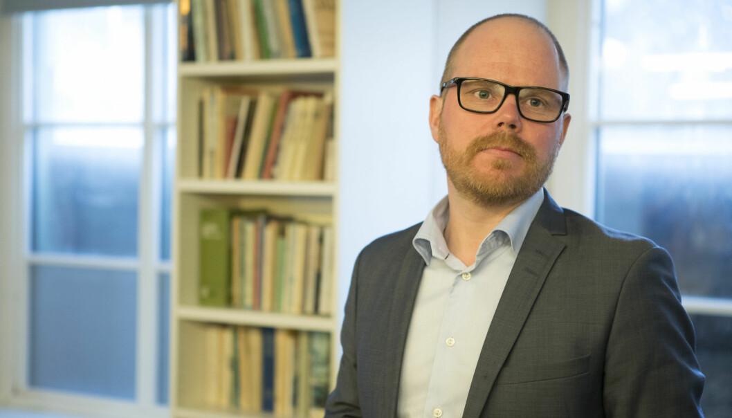 Sjefredaktør Gard Steiro kan se at VGs digitale betalingsprodukt er Norges nest største avis. Foto: Torstein Bøe / NTB scanpix