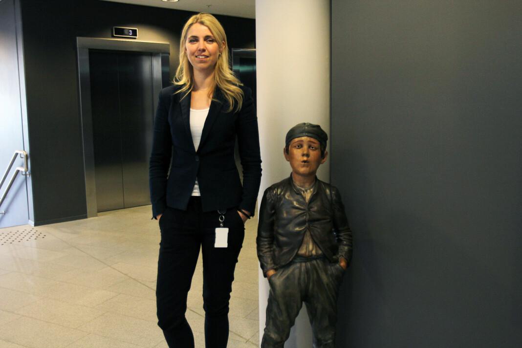 Ansvarlig redaktør i Dagbladet, Alexandra Beverfjord, vil ikke kommentere til DN om opplagstallene har sunket ned til 20.000. Arkivfoto: Glenn Slydal Johansen