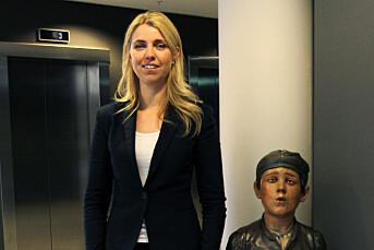 Alexandra Beverfjord, ansvarlig redaktør i Dagbladet.