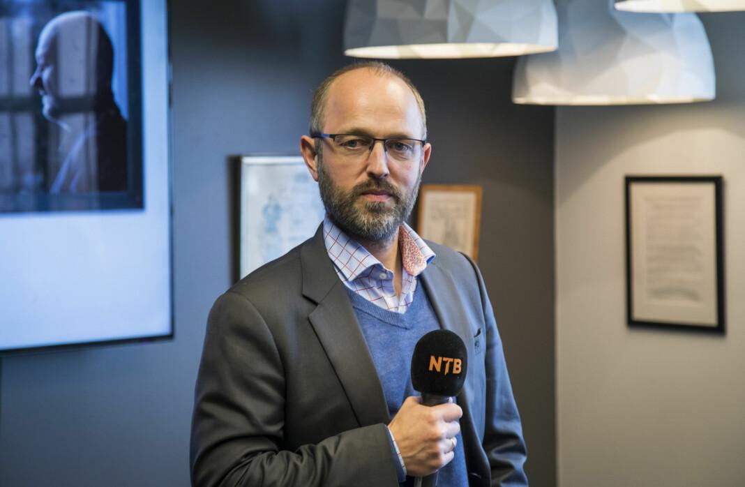 NTB-sjef Mads Yngve Storvik sier at ledelsen tar det som kommer fram i medarbeiderundersøkelsen alvorlig. Foto: NTB scanpix