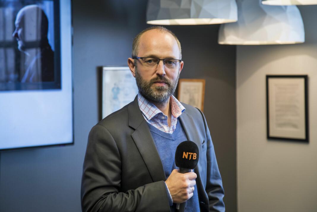 NTB-sjef Mads Magne Storvik går inn som leder for styringsgruppen for det planlagte Journalistikkens Hus. Foto: NTB scanpix