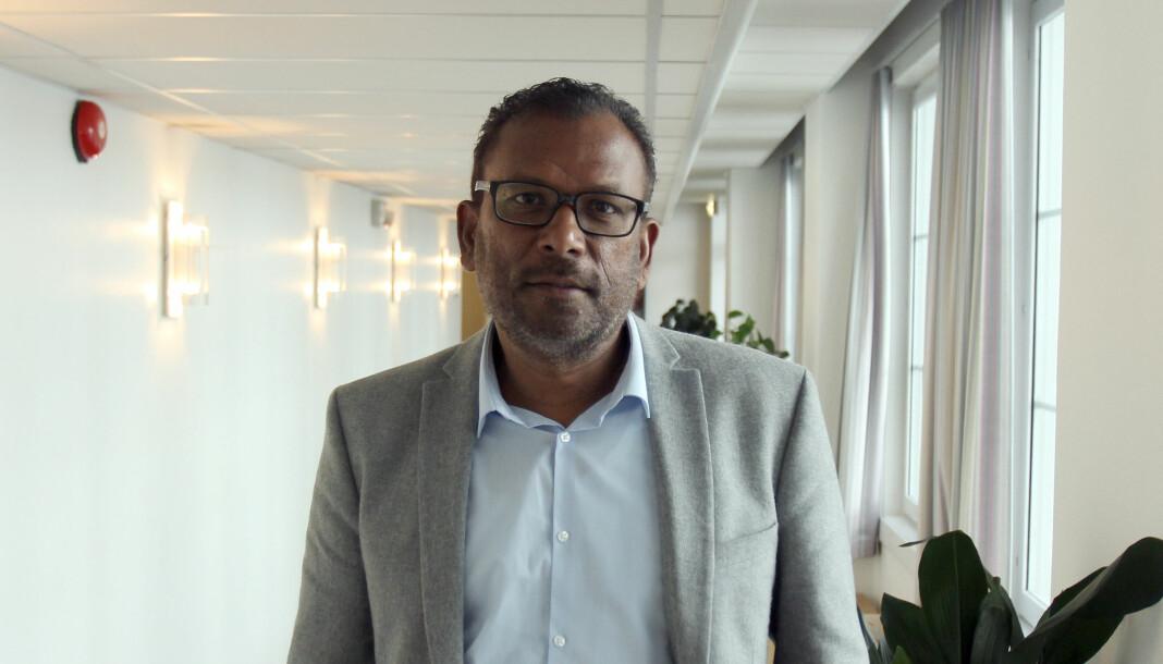 Rajan Chelliah måtte vente i mer enn tre måneder på dommen fra Oslo tingrett, der han ikke fikk medhold i at oppsigelsen fra NRK var ugyldig. Nå ankes dommen. Arkivfoto: Glenn Slydal Johansen