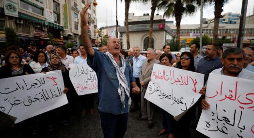 Journalister med krass kritikk av palestinske myndigheter