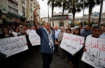LES OGSÅ: Journalister med krass kritikk av palestinske myndigheter