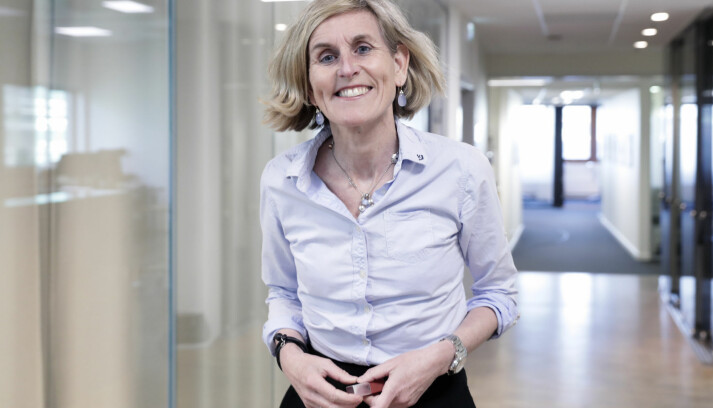 Kristin Veierød er styreleder i Mentor Medier. Foto: Berit Roald/NTB scanpix