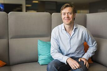 MORGENRUTINEN: Sol-redaktør Andreas Heen Carlsen mener forsider bør redigeres med utgangspunkt i sannhetssøken og nysgjerrighet