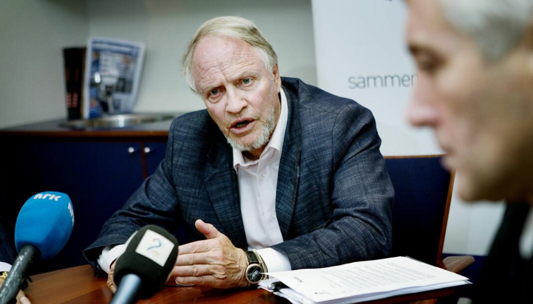 Jens Kristian Thune har vært engasjert innenfor en rekke felt. Her uttaler han seg som styreleder i Antidoping Norge i 2009. Foto: Jon-Michael Josefsen / NTB scanpix