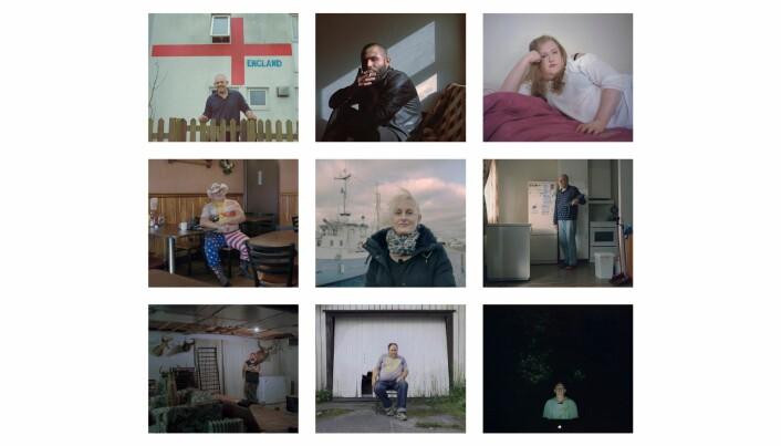 Noen av personene Kyrre Lien portretterte i «Nettkrigerne». Foto: Skjermdump, theinternetwarriors.com