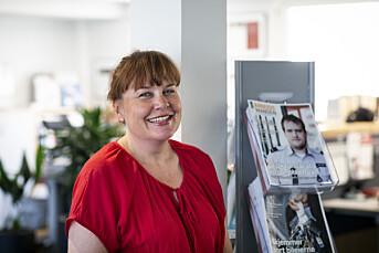 Morgenrutinen: Ane Børrud er opptatt av at fagpressen får like momsvilkår som dagspressen