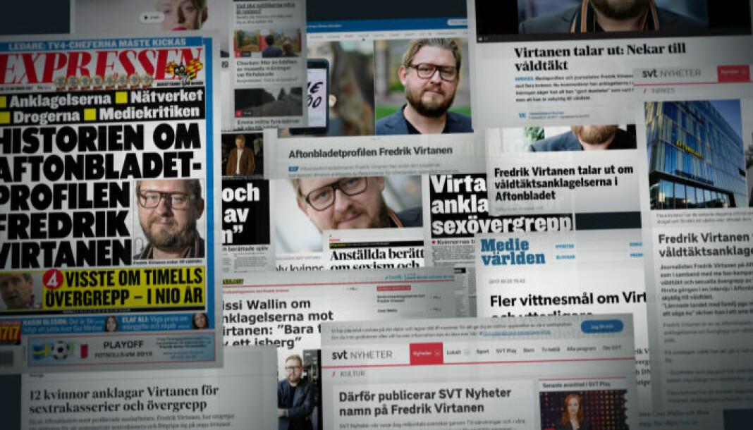 Uppdrag granskning skapte mye debatt i Sverige etter en dokumentar om medienes metoo-dekning. Foto: SVT