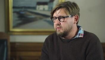Fredrik Virtanen mistet jobben i Aftonbladet etter metoo-beskyldninger. Foto: SVT