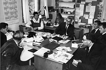 TILBAKEBLIKKET: Dagsrevyens morgenmøte 1964