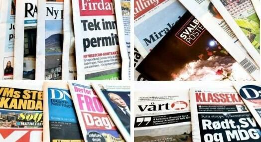 Brukerbetaling største inntektskilde for norsk mediebransje i 2017