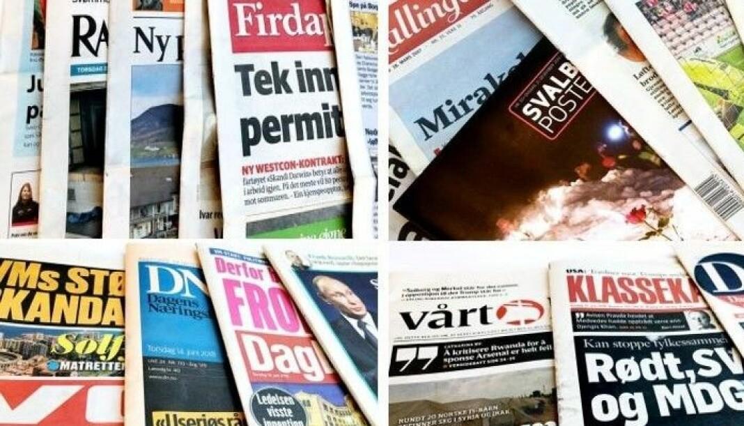 Klassekampen er den avisa som får mest i pressestøtte. Foto: Medietilsynet