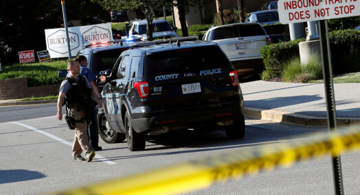 Fire journalister blant de drepte i Annapolis-skyting